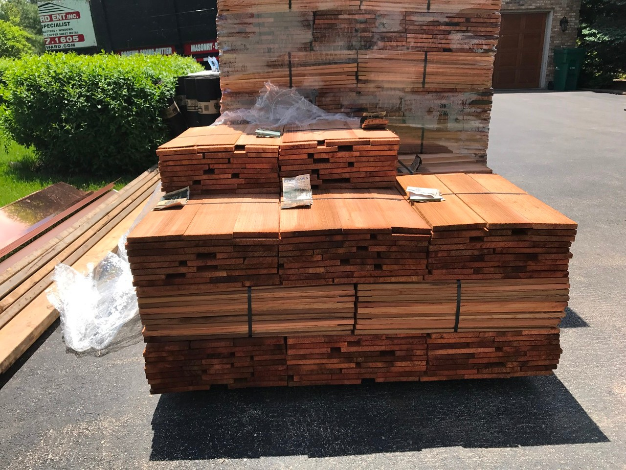 Quality cedar roof contractors will use only the best materials