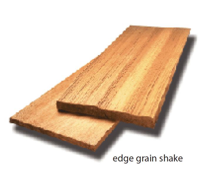 Edge Grain Shakes