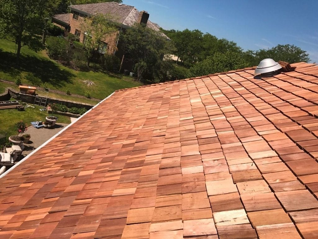 Cedar roof upkeep will postpone roof replacements