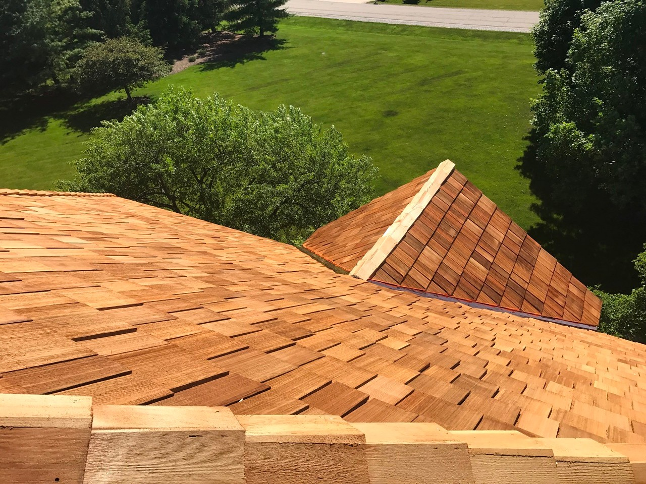 A.B. Edward is a cedar roofing contractor near Chicago IL