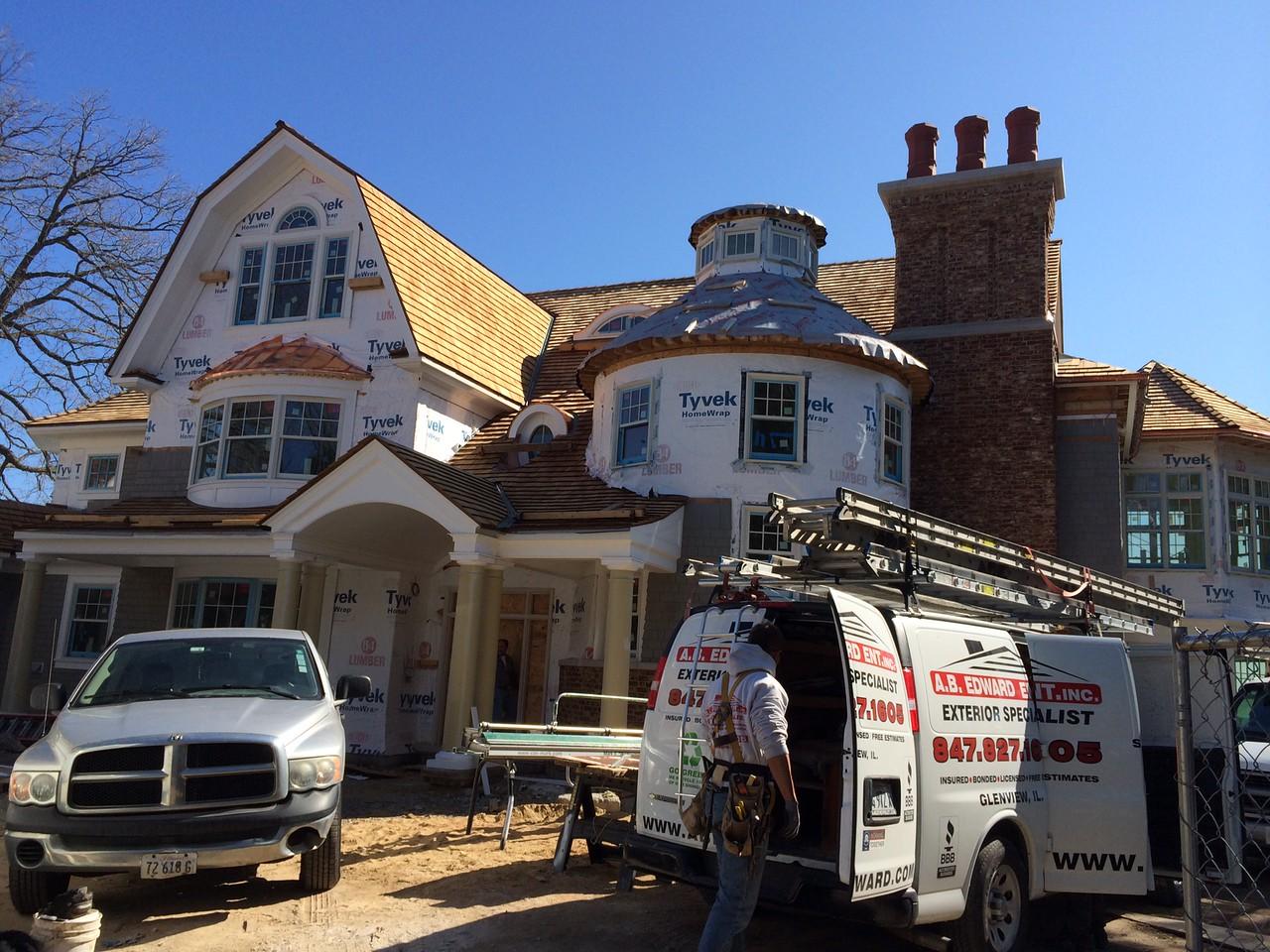 Deerfield IL Cedar Roofing Contractor