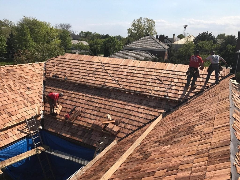 Cedar Roofing Contractor Glenview IL - A.B. Edward Enterprises, Inc.