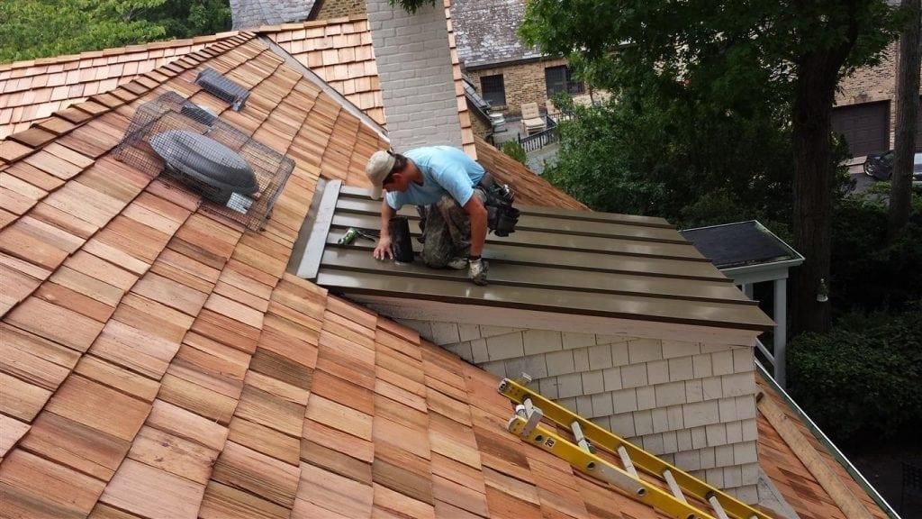 Hoffman Estates IL cedar roofing contractor