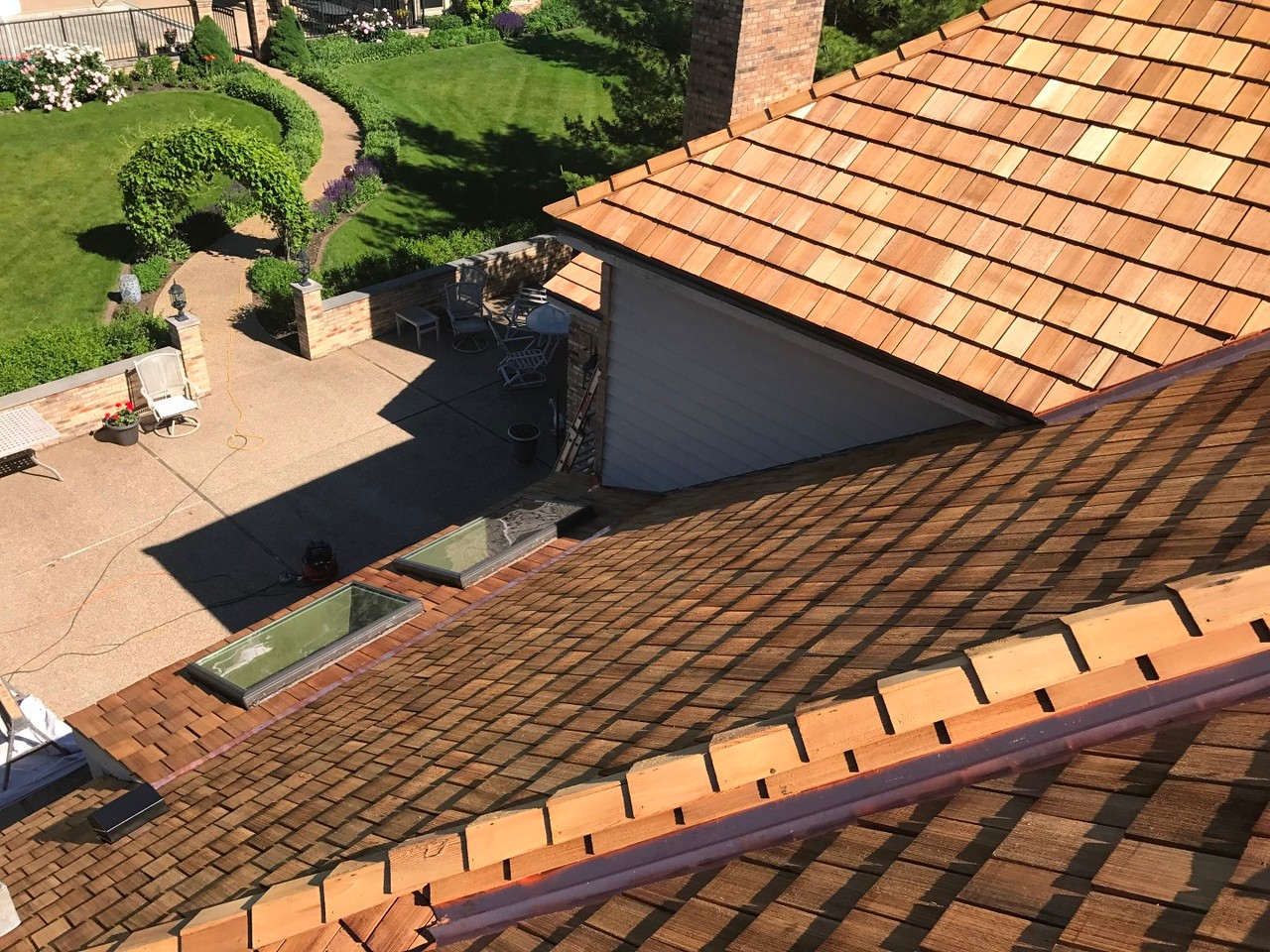 Hoffman Estates Cedar Roof
