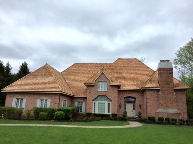 Lake Forest Cedar Roof