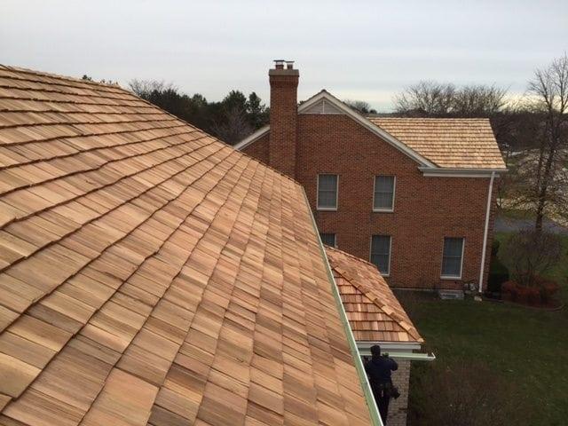Naperville cedar roofing contractor