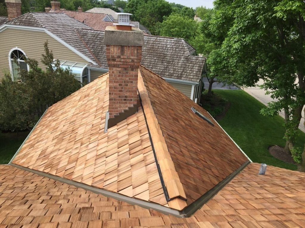 St. Charles IL cedar roofing contractor