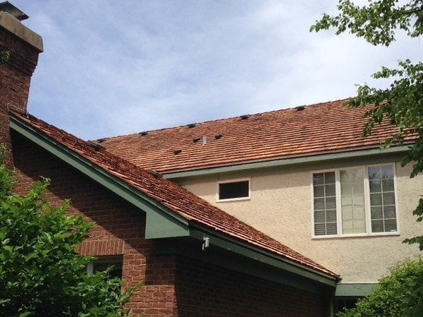 Cedar roof Winnetka IL