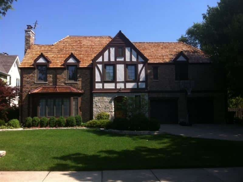 A cedar roofing installation can add a touch of class to your home