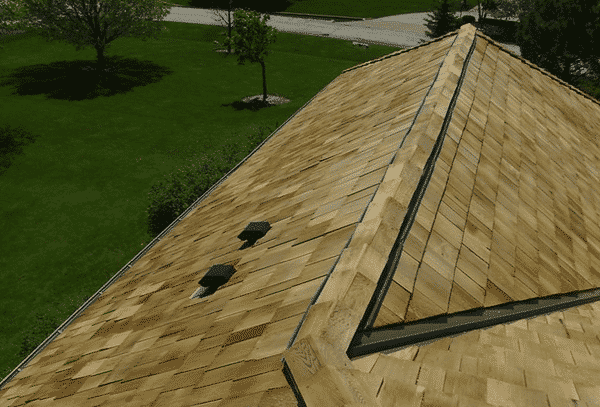 To keep your cedar shake roof in good repair call for an inspection