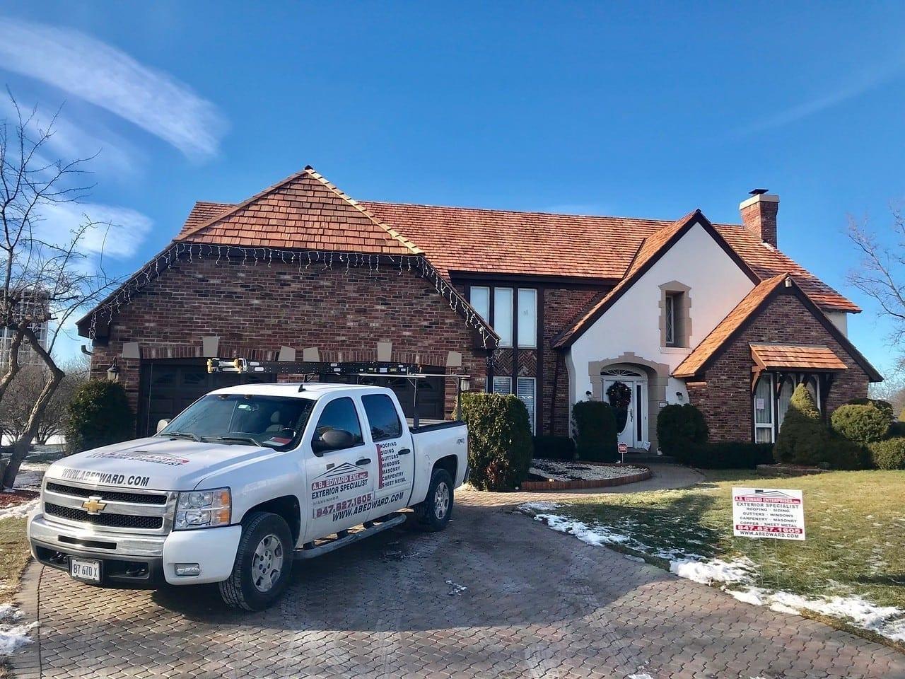 Cedar roof ventilation
