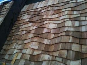 Cedar roofing maintenance for sun damage