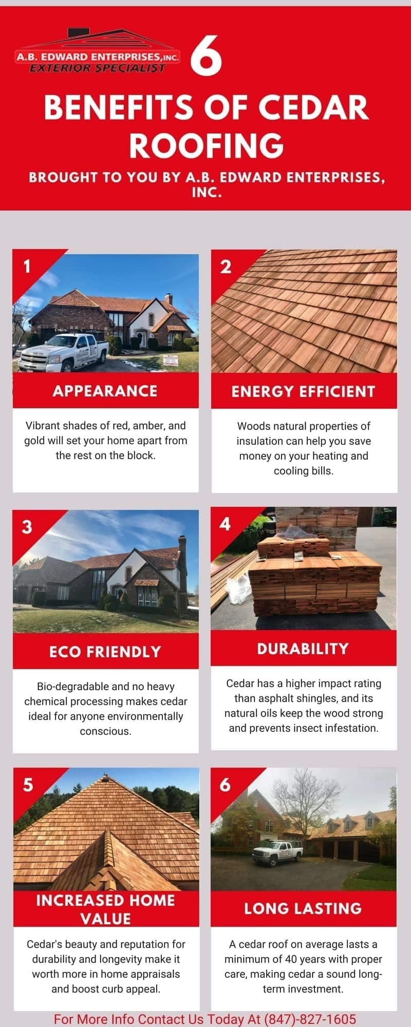 6 Benefits Of Having Cedar Shake Roofing
