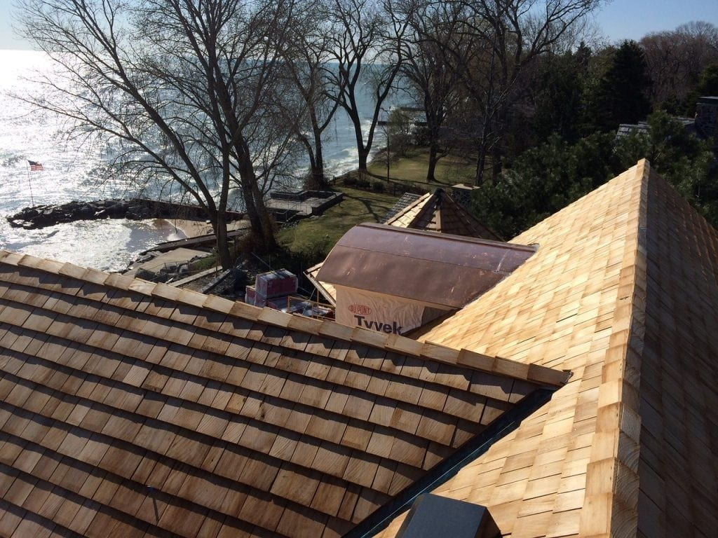 Cedar shingles and shake look great on any house
