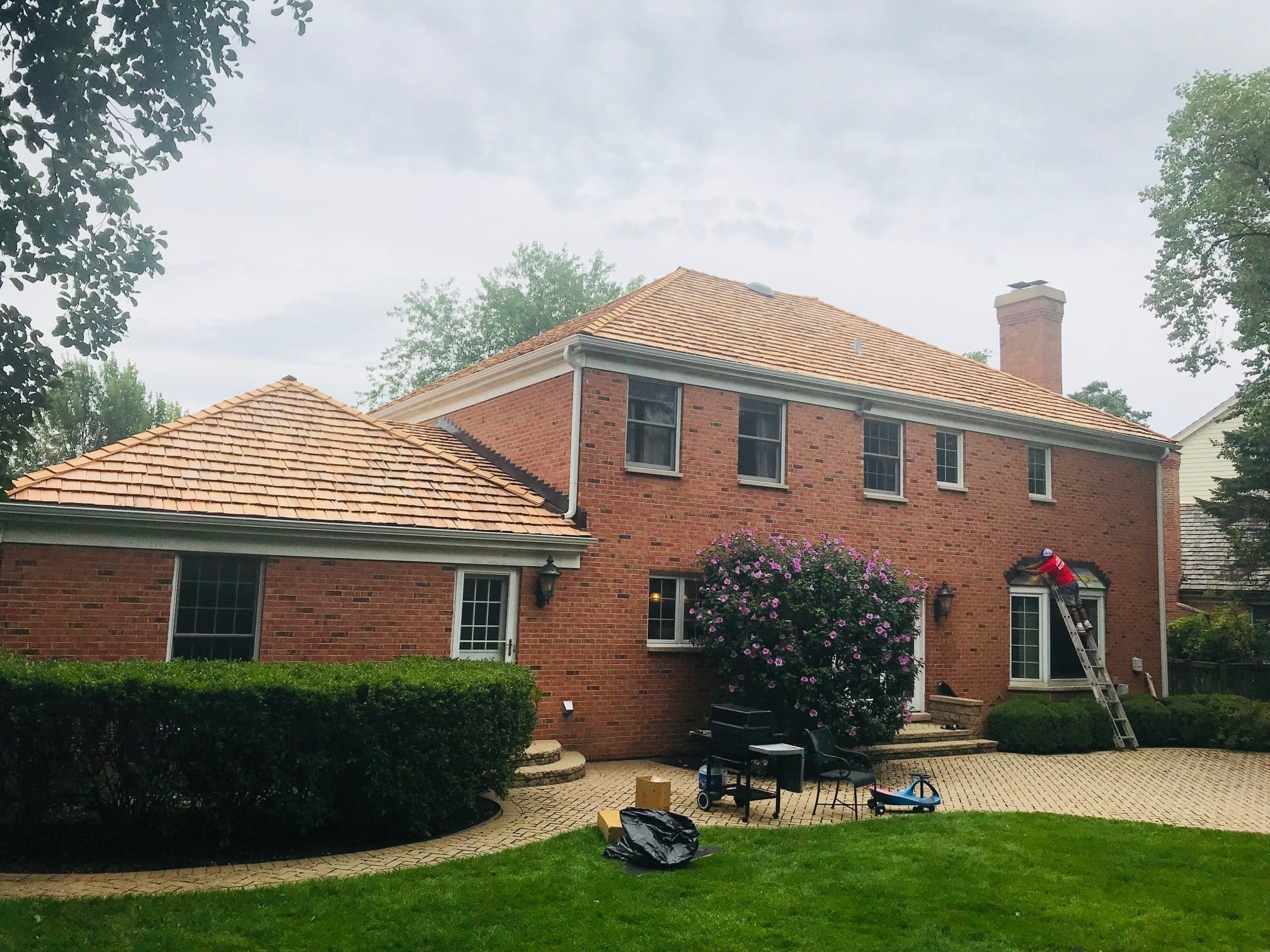 cedar roofing replacement glenview il