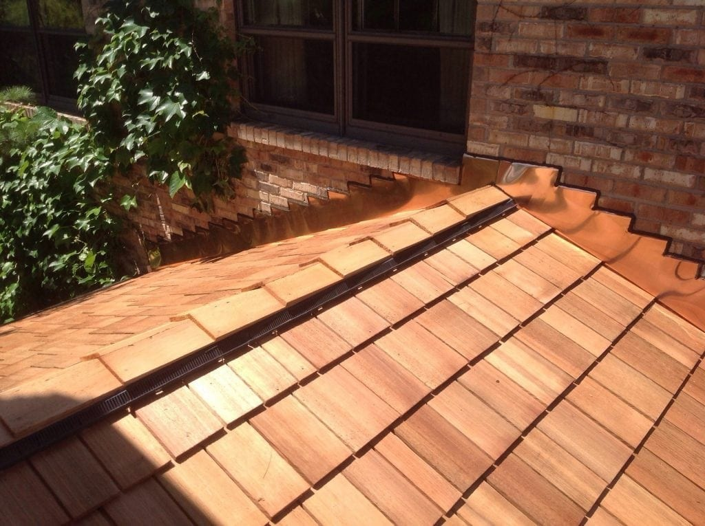 Cedar is one of our specialities, and one of the most beautiful options for a roofing material