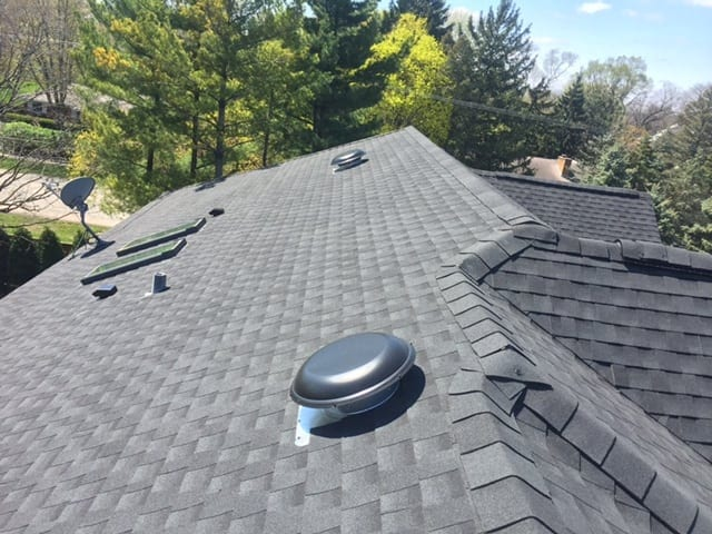 Asphalt is the most common roofing material