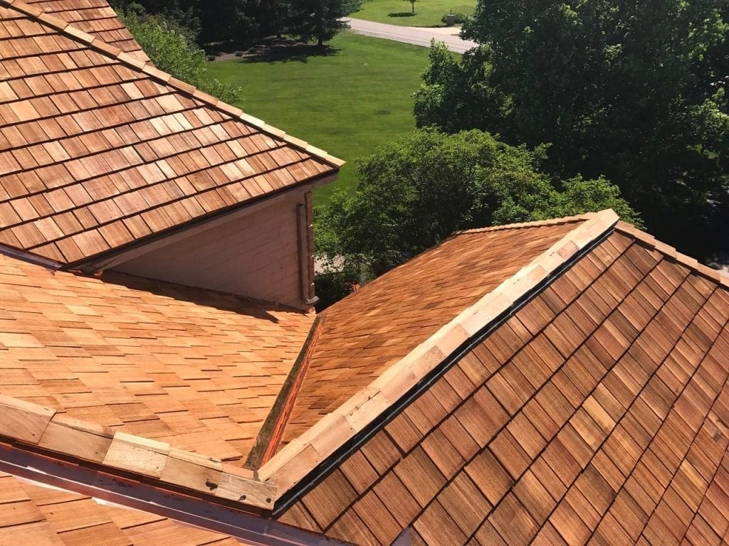 How long will cedar shake roof last?